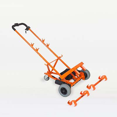 Photo of the WheelieSafe Electric Trolley from the Commercial Range