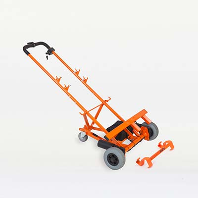 Photo of the WheelieSafe Electric Trolley from the Domestic Range