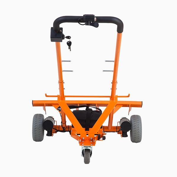 WheelieSafe Electric Bin Handling Trolley – Rear