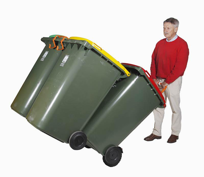 WheelieSafe Heavy Duty Electric with Four Bins